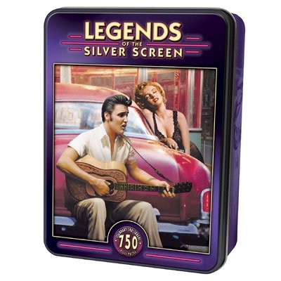 Legendary Crossroads 750 pc Legends Slv Scrn Tin - 1