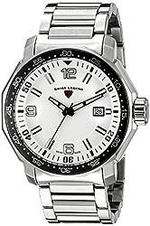 Swiss Legend Men's 16189SM-22S Blue Geneve Stainless Steel Watch