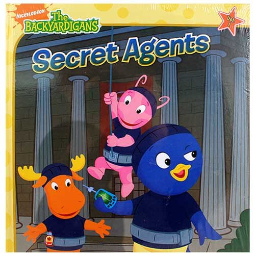 The Backyardigans - Secret Agents - Volume 1 front-1072207