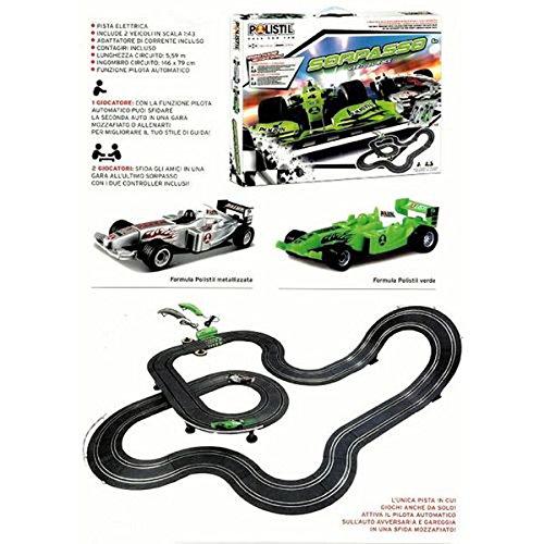 Polistil 4893933-960574 - Pista Polistil Sorpasso Virtual Race