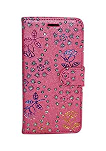 Luxury Slim Blingy Glitter PU Leather Wallet Flip Case Cover for Samsung Galaxy J5 J510F [2016]