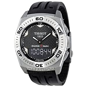 : Tissot Racing Touch Dial Mens Watch T0025201720101: Tissot: Watches
