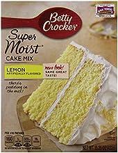 Betty Crocker Super Moist Lemon Cake Mix - 1525 oz