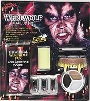 Werewolf Horror Character Costume Makeup Kit by Funworld