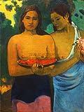 PAUL GAUGUIN TWO TAHITIAN WOMEN OLD MASTER ART PAINTING PRINT 12x16 inch 30x40cm POSTER ART 2205OM