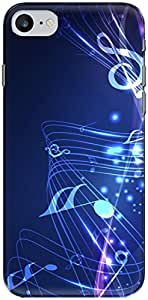 The Racoon Grip music fall hard plastic printed back case/cover for Apple Iphone 7