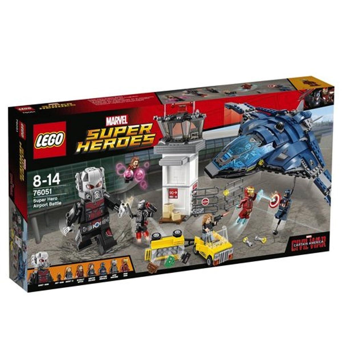 [해외] 레고 (LEGO) 슈퍼히어로즈 슈퍼 히어로 에어포트 배틀 76051-76051 (2016-03-04)