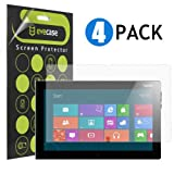 Evecase® Clear & Anti-Glare Anti-Fingerprint Matte Screen Protector Mix Set for Lenovo ThinkPad Tablet 2 10.1inch Windows 8 Pro Tablet