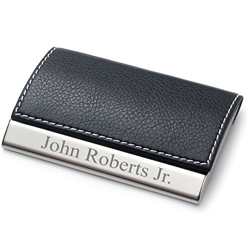 personalized-leatherette-business-card-case-free-engraving