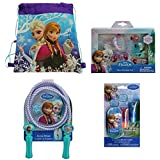 Disney Frozen Non Woven Nylon Sling Bag With Disney Frozen Best Friends 6 Piece Set, Disney Frozen Lip Gloss Set...