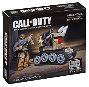 Mega Bloks Call of Duty Drone Assault Collector Construction Set