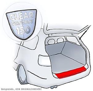 Passend für VW Tiguan - Passform Lackschutzfolie Schutzfolie Ladekantenschutz für Ladekante in transparent 150µm
