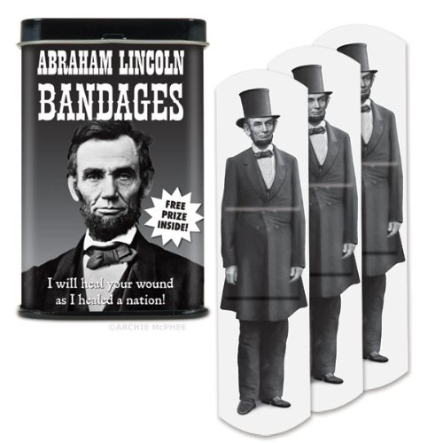 Accoutrements Abraham Lincoln Bandages - 1