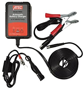 Associated Equipment 9003 ATEC 6/12V 0.9 Amp AGM or Lead Acid Automatic Charger/Maintainer