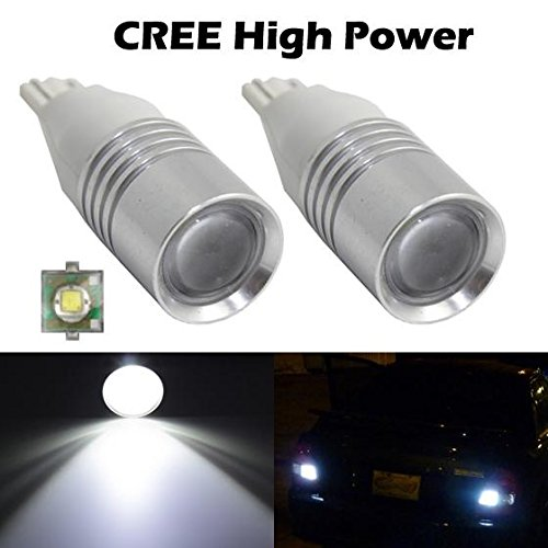Partsam 2pcs High Power 921 912 T15 T10 Cree Xenon White 6000K 120lm Car Led Backup Reverse Light Bulbs (2004 Toyota Prius Brake Light compare prices)