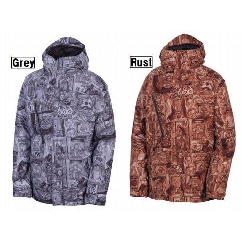 """686/シックスエイトシックス 2012-2013モデル スノーボードメンズウェア""""L2WLTD10 Ltd Blind Anniversary Insulated Jacket/エルティーディー ブラインド アニバーサリー インシュレーテッド ジャケット"""" スノーボード ウェア 12-13"""