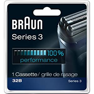 Braun Series 3 Combi 32b Replacement Head Pack 1 Count
