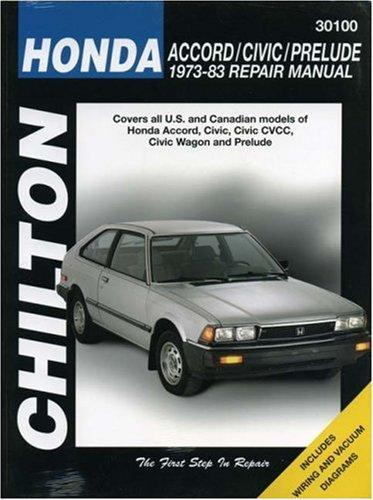 chiltons-honda-accord-civic-prelude-1973-83-repair-manual