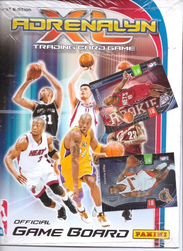 Adrenalyn XL NBA Trading Card Game Official Game Board by Panini