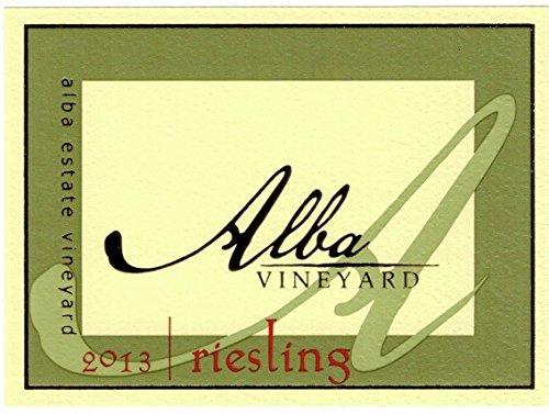2013 Alba Vineyards Riesling 750 Ml