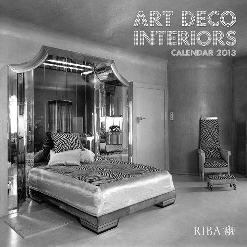 RIBA Art Deco Interiors Calendar 2013