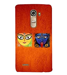 Kali Bhajan Maa Kali Kolkatta Wali 3D Hard Polycarbonate Designer Back Case Cover for LG G4 Mini :: LG G4C