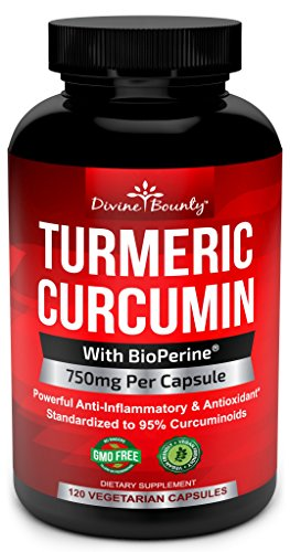 Turmeric-Curcumin-with-BioPerine-Black-Pepper-Extract-750mg-per-Capsule-120-Veg-Capsules-GMO-Free-Tumeric-Standardized-to-95-Curcuminoids-for-Maximum-Potency