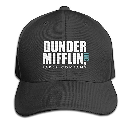 GPOPA Cotton Dunder Mifflin Inc Solid Cap/Snapback Hats/Baseball Caps For Unisex Adult (The Office Merchandise Bobblehead compare prices)