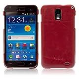Zenus Galaxy S2 LTE (SC-03D)ケース Masstige Bar ヴィンテージレッド Z469iGS2L