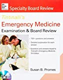 img - for McGraw-Hill Specialty Board Review Tintinalli's Emergency Medicine Examination and Board Review 7th edition by Promes Susan (2013-02-13) Paperback book / textbook / text book