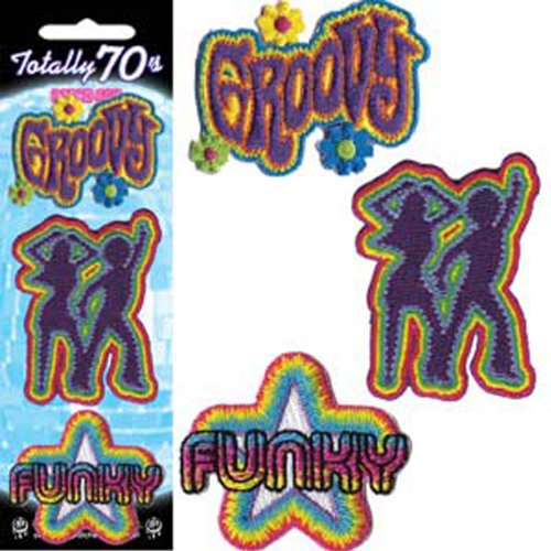 Application Tot 70's Pcard Patch Set