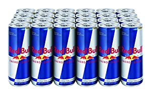 Red Bull Energy Drink, 8.4-Fluid Ounce Cans, 24 Pack