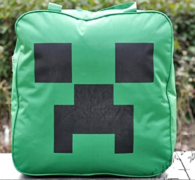 Minecraft Creeper Backpack 16 X 15 Inchs by A-factory