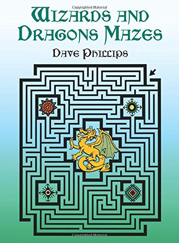 Wizards and Dragons Mazes (Dover Children's Activity Books)