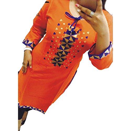 Kesu-Fahion-Woman-Embroidered-semi-stitched-Selfie-Kurti-In-Georgette-Fabric-KUKRT1021Free-SizeBlue
