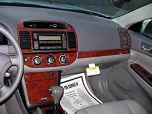 toyota camry interior burl wood dash trim kit set 2005 2006 auto. Black Bedroom Furniture Sets. Home Design Ideas