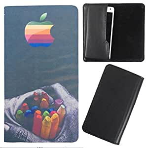 DooDa - For Karbonn S5 Titanium PU Leather Designer Fashionable Fancy Case Cover Pouch With Smooth Inner Velvet