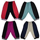 Pushpak Readymades Kids Special Track Pants (Pack Of 4)