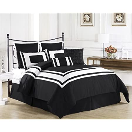 Wrap yourself in the Softness of the Lux Décor Comforter Set found in World Class Hotels. Comfort, quality and opulence sets our luxury bedding in a class above the rest. Elegant yet durable, their softness is enhanced with each washing. Note: this C...