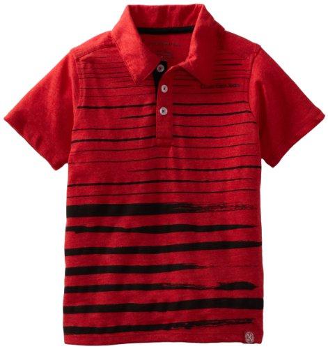 Hurley Boys 2-7 Short Sleeve Slub Polo