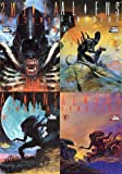 img - for Aliens : GENOCIDE Complete Set 1 2 3 4 - ALL 4 ISSUES (FULL COLOR COMIC Mini Series) book / textbook / text book