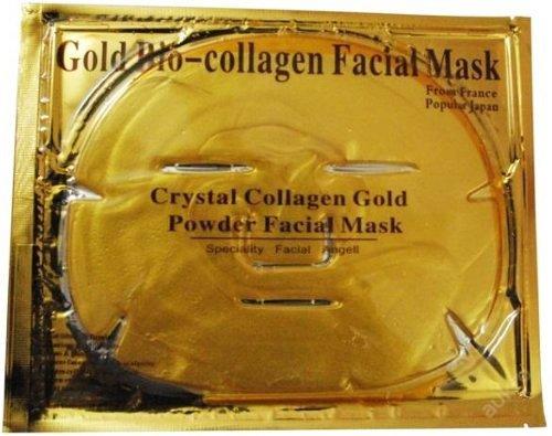 Luxurious 24K Gold Bio-Collagen Facial Mask (5Pcs) By Pro Natural Inc.