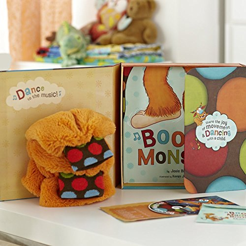 Boogie Monster Dance Kit [With Plush Boogie Legs Socks and CD (Audio)] by Josie Bissett (1-Jun-2011) Hardcover