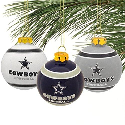 Dallas Cowboys Christmas Ornament, Christmas Cowboys