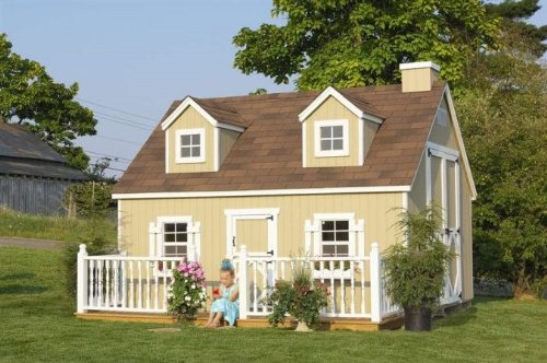 10 x 12 Cape Cod Playhouse -Panelized Kit