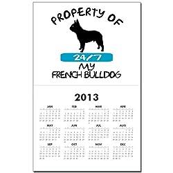 CafePress French Bulldog Calendar Print - Standard by CafePress