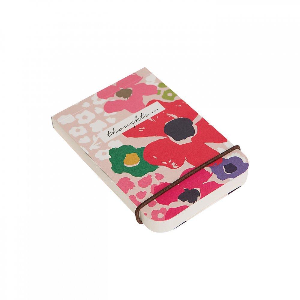 Caroline Gardner Ditsy Floral Little Jotter Bold Block Pocket Notebook