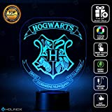 Harry Potter Hogwarts Lighting Decor Gadget Lamp + Sticker Decor for Perfect Set, Awesome Gift (MT029) By Holinox