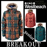 14-15 WESTBEACH / ウエストビーチ BEATTY DUFFLE ins jacket ウェア ジャケット ウエアー レディース スノーボード XS HAUNTED