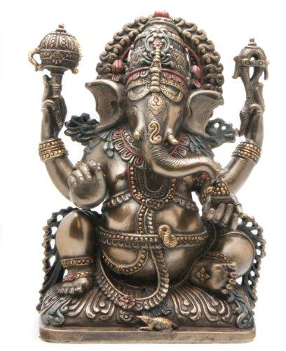 Cold Cast Bronze Ganesh Statue